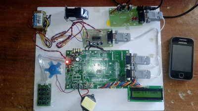 ATM Security System using GSM and finger Module